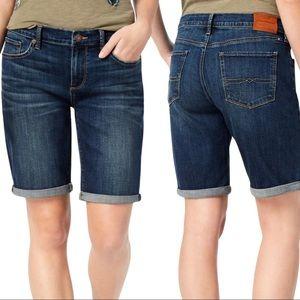 Lucky Brand The Bermuda Cuffed Hem Denim Shorts